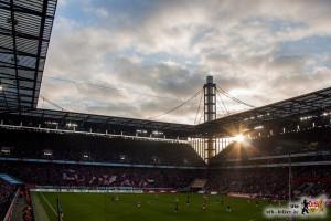 Für den VfB-Anhang ein perfekter Fußballnachmittag in Köln. Bild © VfB-Bilder.de