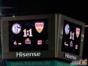 Das Unentschieden kam eventuell zum richtigen Zeitpunkt. Bild © VfB-Bilder.de