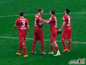 In der ersten Halbzeit trat der VfB zu brav auf. Bild © VfB-Bilder.de