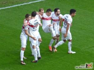 Der VfB klettert mit Schwung unten raus. Bild © VfB-Bilder.de