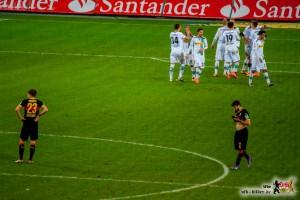 Beim VfB lief gar nichts zusammen. Bild: © VfB-Bilder.de
