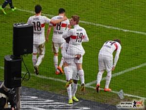 Timo Werner deutet es an: Weniger reden, mehr siegen. Bild © VfB-Bilder.de