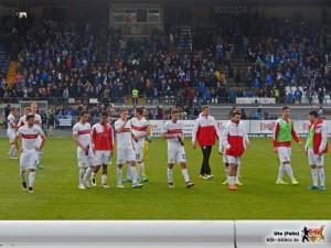 Die Mannschaft schafft es nicht, die Spannung lange genug hochzuhalten. Bild © VfB-Bilder.de