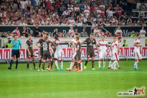 Der VfB wehrte sich in der 2. Halbzeit - erfolgreich. Bild: © VfB-Bilder.de