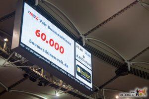 pic034Das Neckarstadion war ausverkauft, was die Mannschaft zunächst eher verängstigte. Bild: © VfB-Bilder.de