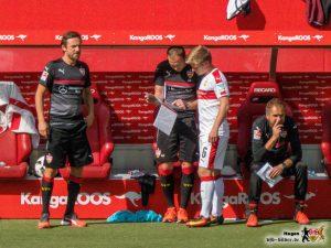 Andi und Heiko als Co-Trainer. Good old times. Bild © VfB-Bilder.de