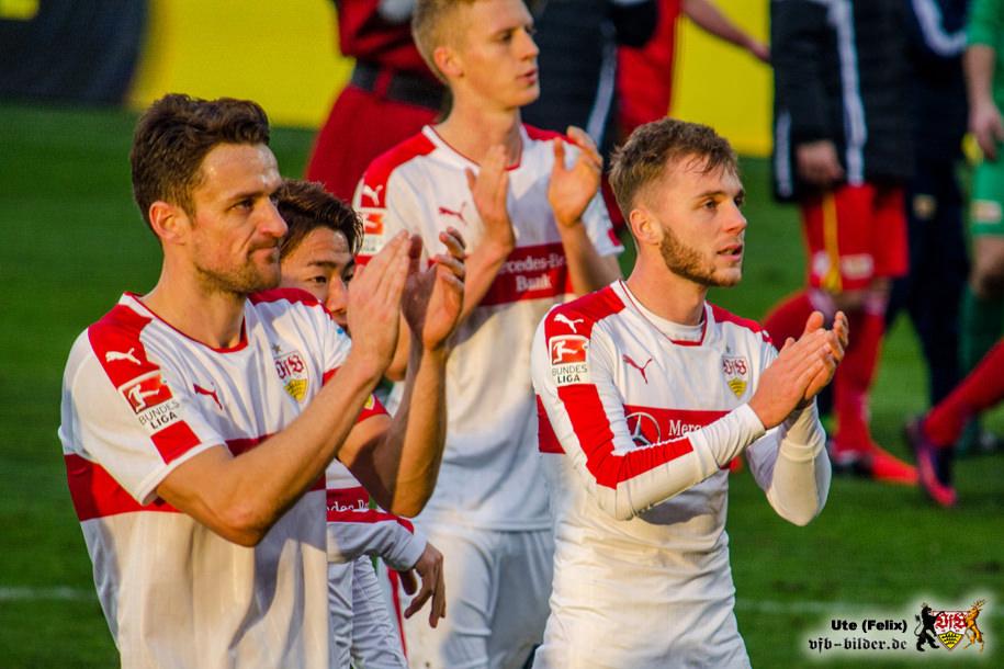 So richtig zufrieden war keiner. Bild © VfB-Bilder.de