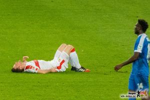 Körperlich und geistig war der VfB nicht auf der Höhe. © VfB-Bilder.de