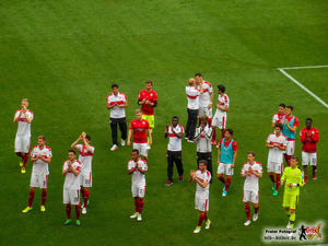 Feierstimmung trotz Niederlage...irgendwie. Bild: © VfB-Bilder.de