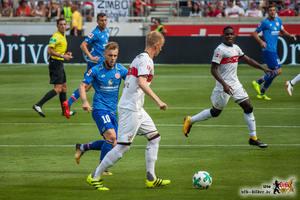 Die stabile Defensive war neben Zieler der Schlüssel zum Erfolg. Bild: © VfB-Bilder.de