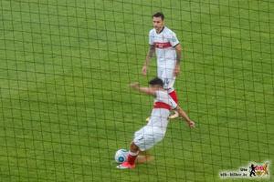 Josip Brekalo war in der zweiten Halbzeit der Lichtblick in der VfB-Offensive. Bild: © VfB-Bilder.de