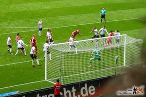 Da sah die Welt noch super aus: Teroddes erstes Bundesliga-Tor. Bild: © VfB-Bilder.de