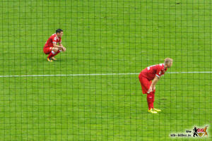 Enttäuschte Brustringträger. Es wäre vermeidbar gewesen. Bild: © VfB-Bilder.de
