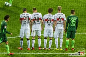 Hinten bis auf eine Ausnahme stabil, aber vorne zu wenig. © VfB-Bilder.de