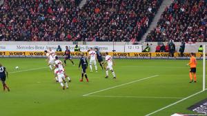 Der VfB zeigte in vielerlei Hinsicht seine beste Saisonleistung. Bild: © Eric Späte