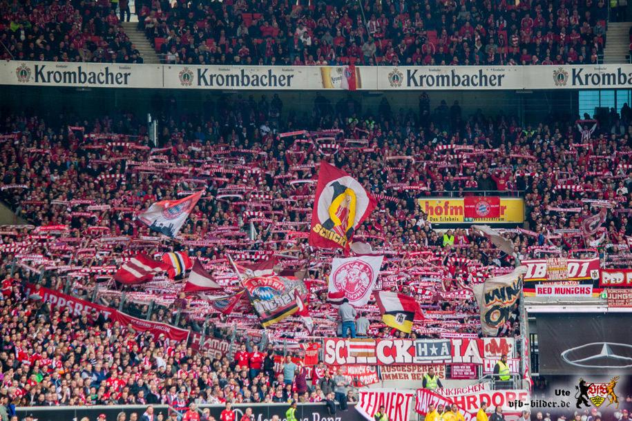 Rund um das Spiel gegen München