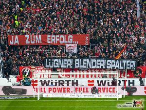 Es besteht - mal wieder - Redebedarf in Bad Cannstatt. Bild: © VfB-Bilder.de