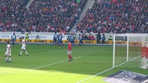 Da ist es passiert: Der VfB pennt, der HSV geht in Führung.