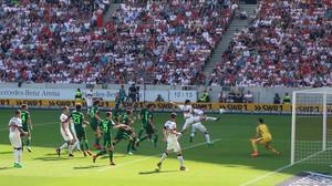 Auch gegen Bremen lange ein Problem: Das Toreschießen.