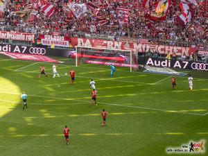 Es sieht so unwirklich einfach aus. Bild: © VfB-Bilder.de