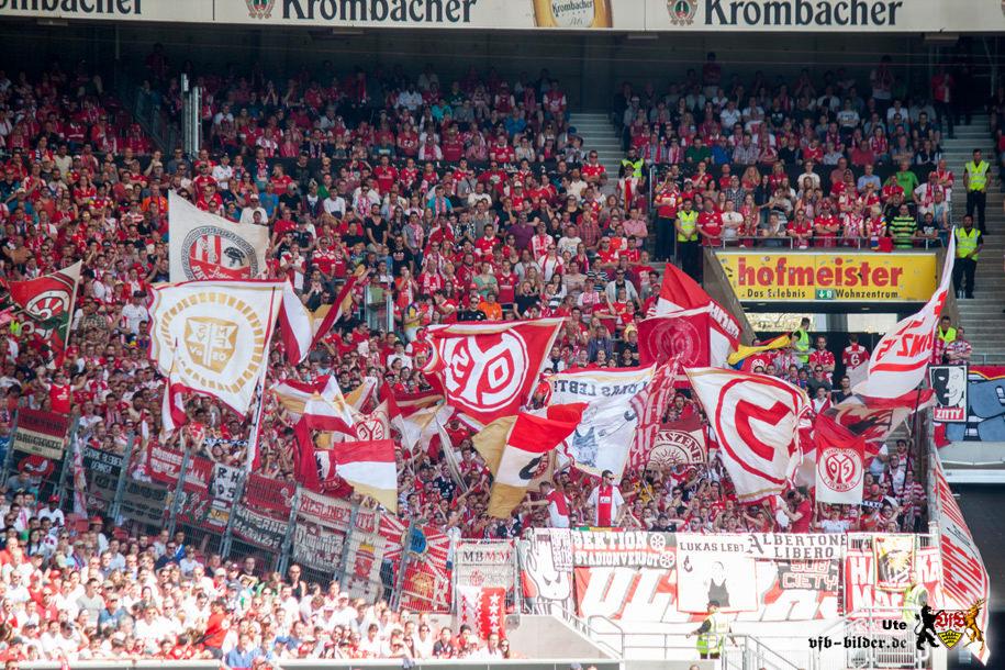 Rund um das Spiel gegen Mainz