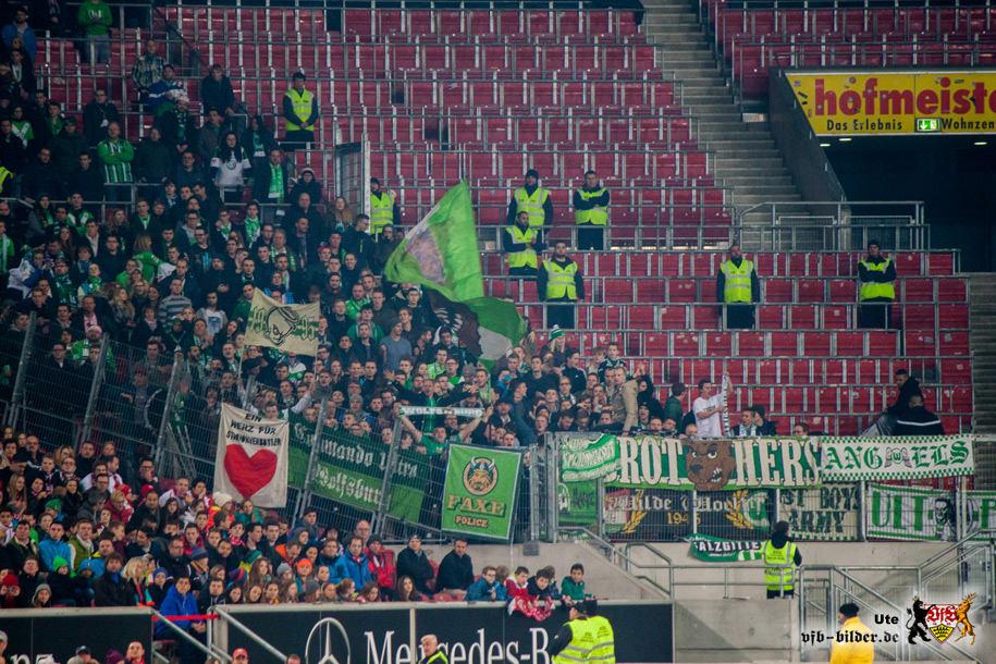Rund um das Spiel gegen Wolfsburg
