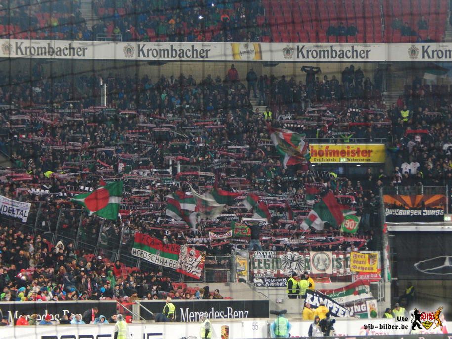 Rund um das Spiel gegen Augsburg