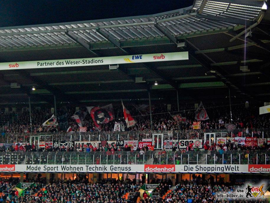 Rund um das Spiel in Bremen