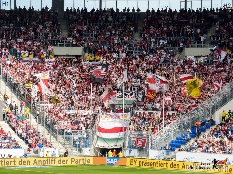 Rund um das Spiel in Hoffenheim