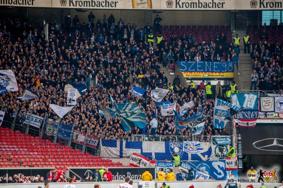 Rund um das Spiel gegen Berlin