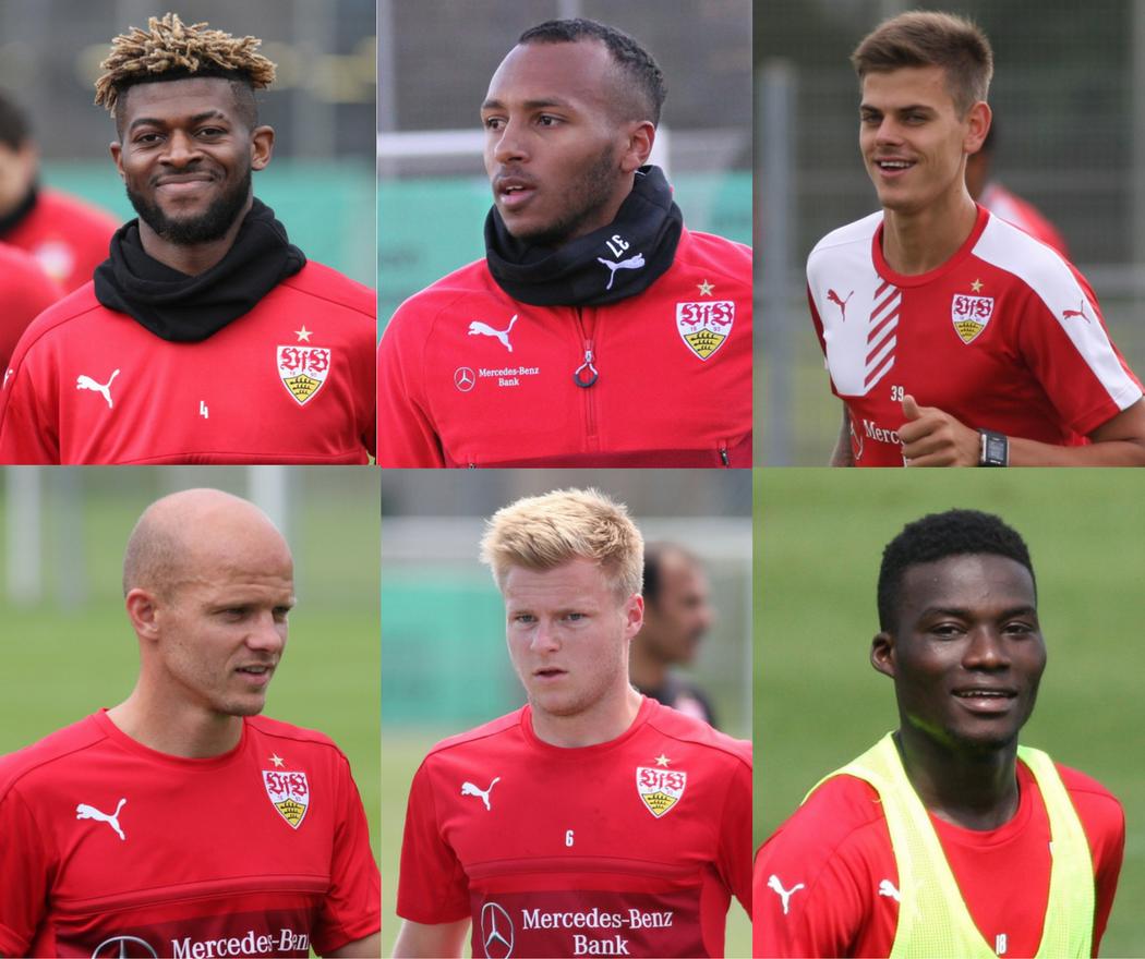 Derzeit nicht im Brustring: Die ausgeliehenen Spieler des VfB