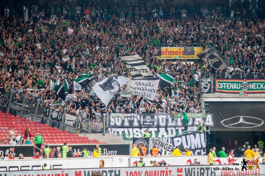 Rund um das Spiel gegen Mönchengladbach