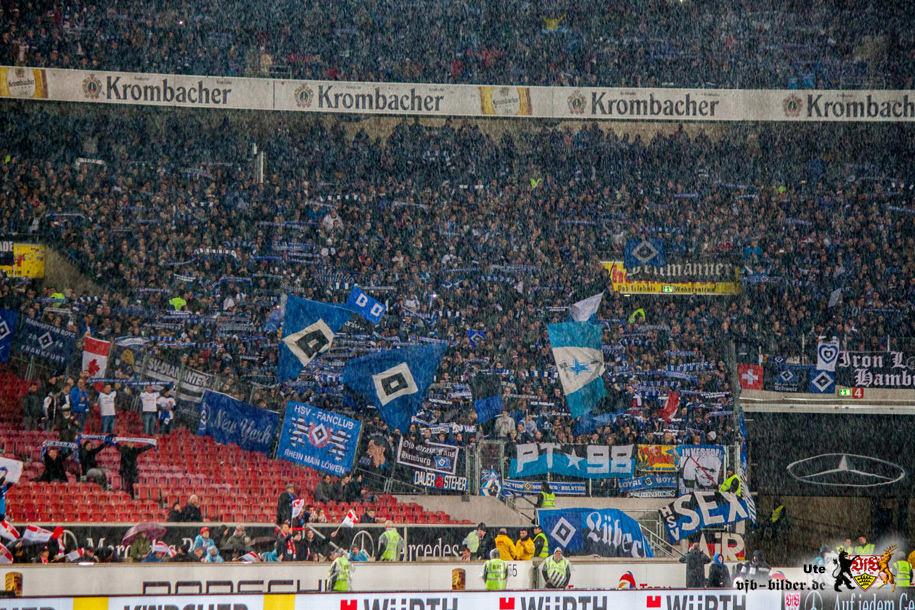 Rund um das Spiel gegen Hamburg