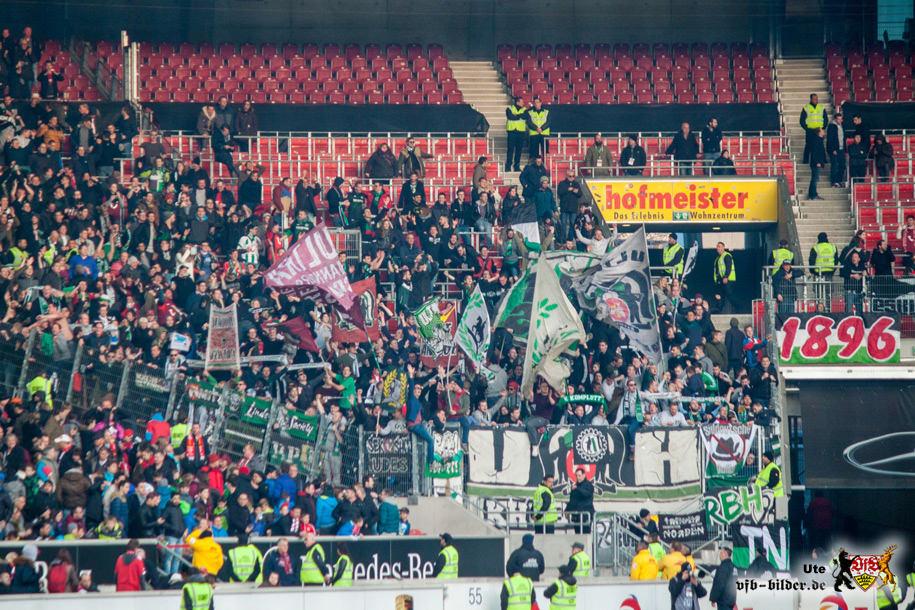 Rund um das Spiel gegen Hannover