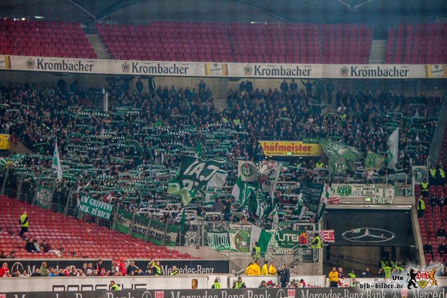 Rund um das Spiel gegen Bremen