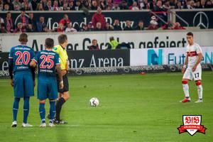 Wer die wenigen Chancen nicht nutzt, muss sich mehr einfallen lassen. Bild: © VfB-Bilder.de