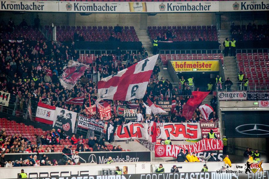 Rund um das Spiel gegen Düsseldorf