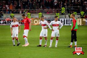 Unzufriedenheit überall - so reicht es nicht. © VfB-Bilder.de