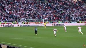 Zu häufig hatte Werder zu viel Platz - in Unterzahl!