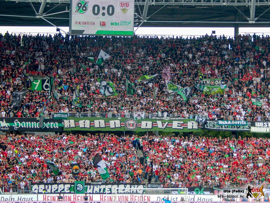 Die Heimkurve wird auch am Samstag wiede Stimmung machen - wie hier in der Saison 2016/17. Bild: © VfB-Bilder.de