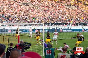 Da ist es schon wieder passiert. Der VfB verpennt die erste halbe Stunde. © VfB-Bilder.de