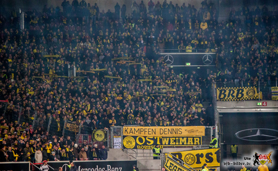 Rund um das Spiel gegen Dortmund