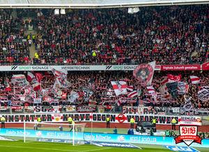 Erneut war eine fünfstellige Zahl an VfB-Fans im Max-Morlock-Stadion. Bild: © VfB-Bilder.de