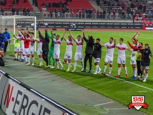 Es ist nur ein kleiner Schritt nach vorne, aber es ist einer. Bild: © VfB-Bilder.de