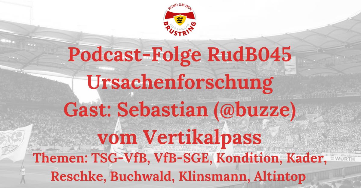 RudB045 – Ursachenforschung – Gast: Sebastian (@buzze) vom Vertikalpass