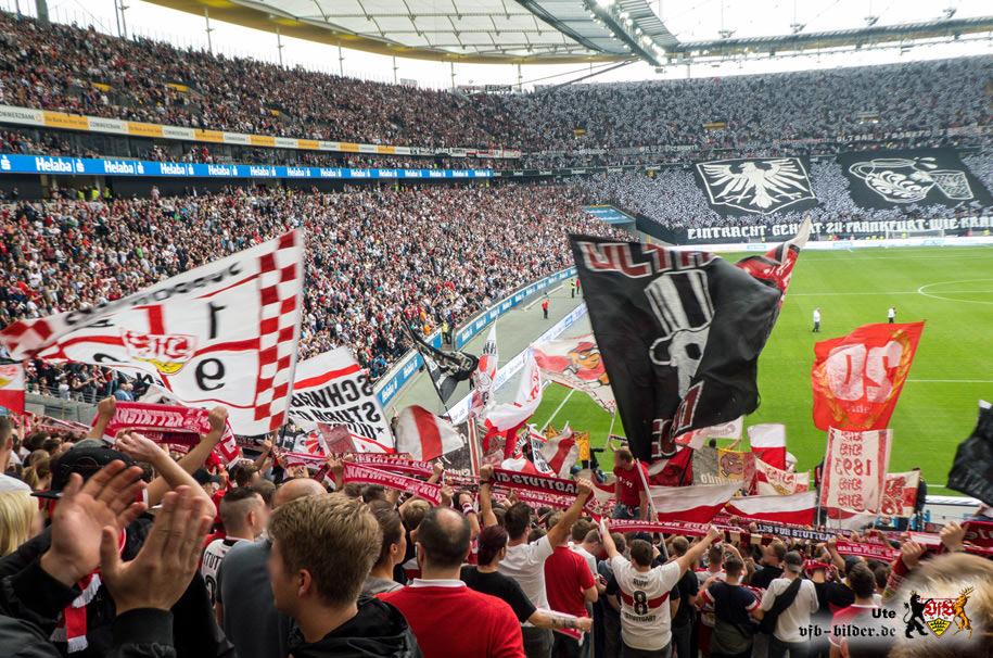 Rund um das Spiel in Frankfurt