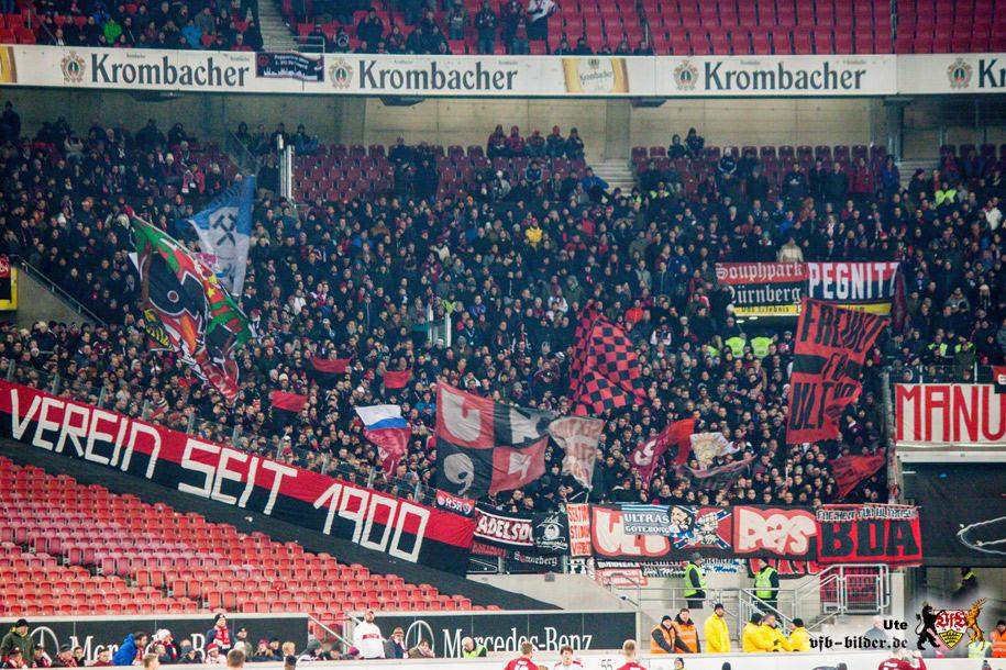 Rund um das Spiel gegen Nürnberg