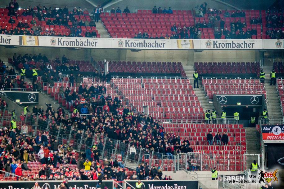 Rund um das Spiel gegen Leverkusen