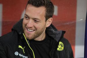 Ex-VfBler Nr. 1 (hier noch beim BVB): Julian Schieber. Bild: © Thomas Rodenbücher unter CC BY 2.0