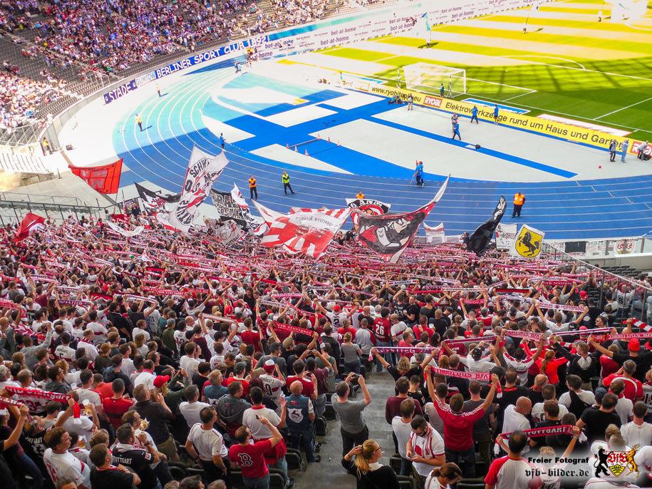 Rund um das Spiel in Berlin
